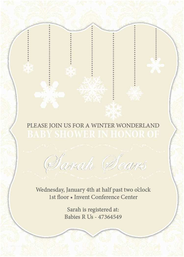 Winter Baby Shower Invitations 301 Moved Permanently