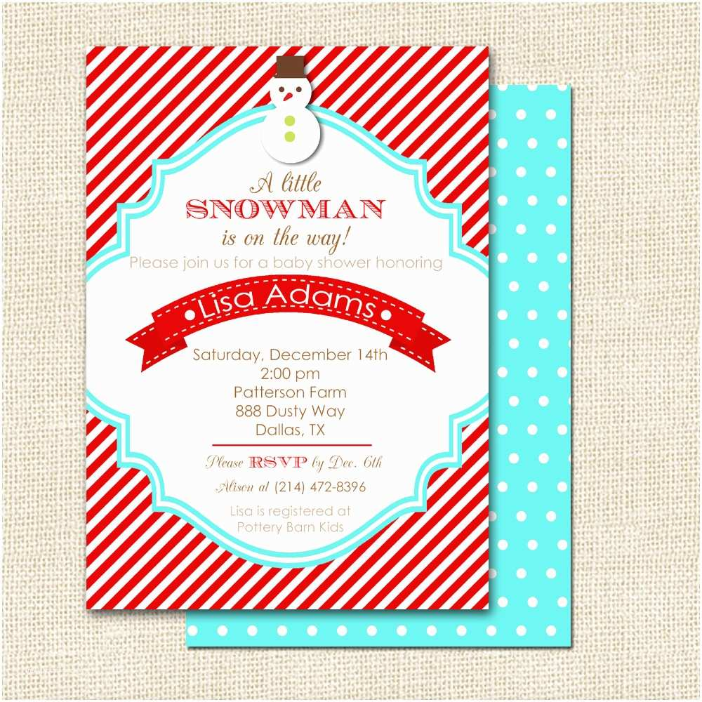 Winter Baby Shower Invitations theme Winter Wonderland Baby Shower Invitation Wording