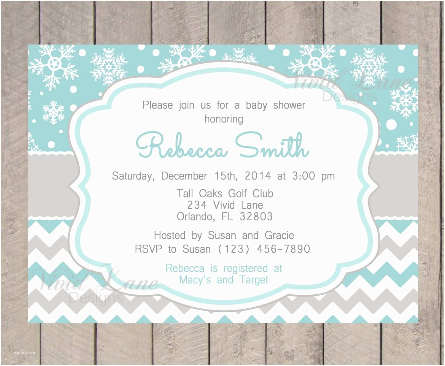 Winter Baby Shower Invitations Winter Baby Shower Invitations Template Resume Builder