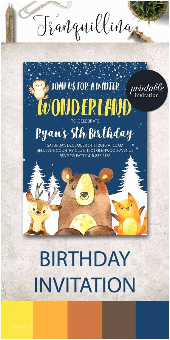 Winter First Birthday Party Invitations Best 25 Handmade Ideas On Pinterest