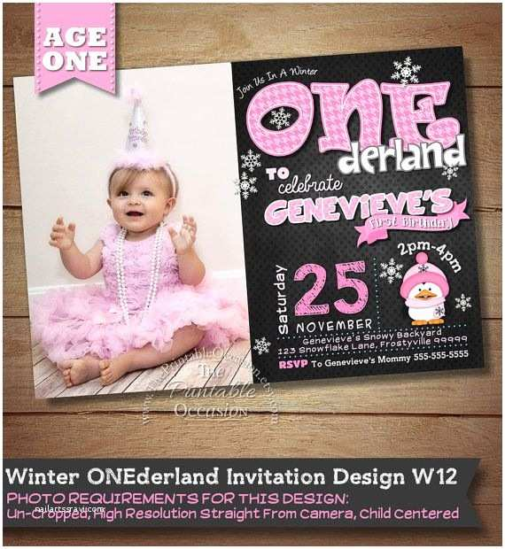 Winter Onederland Birthday Invitations Best 25 Winter Onederland Invitations Ideas On Pinterest