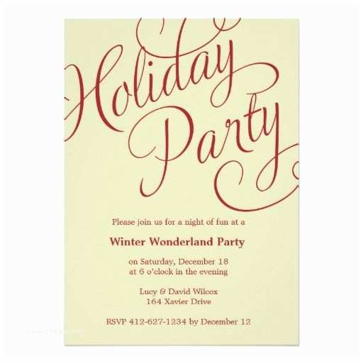 Winter Party Invitations 17 Best Images About Holiday Party Invitations Work On