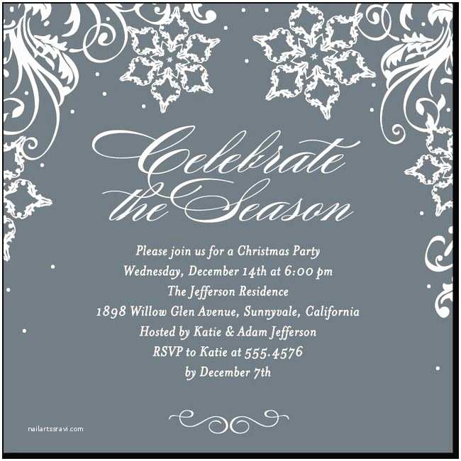 Winter Party Invitations 27 Best Layout Ideas Christmas Winter Holiday Images On