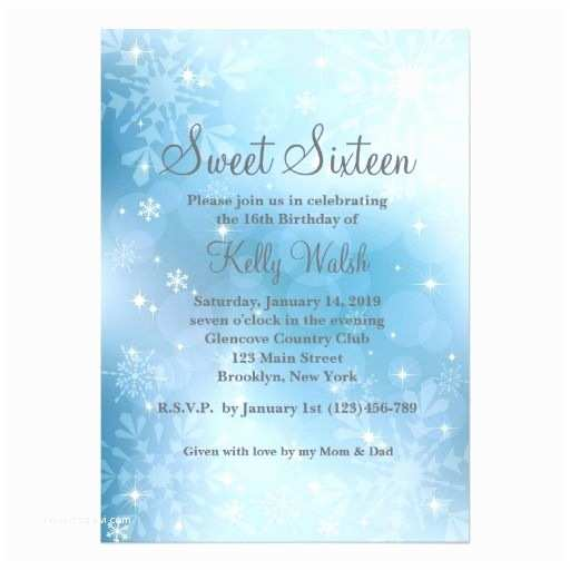 Winter Party Invitations 290 Best Images About 16th Birthday Party Invitations On