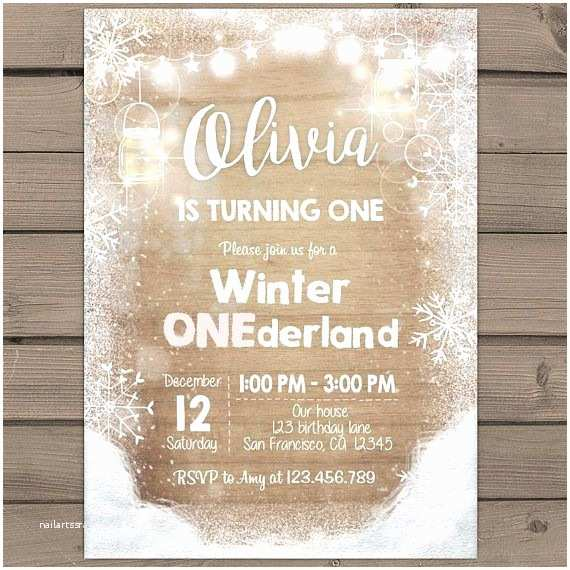 Winter Party Invitations Best 25 Winter Onederland Invitations Ideas On Pinterest