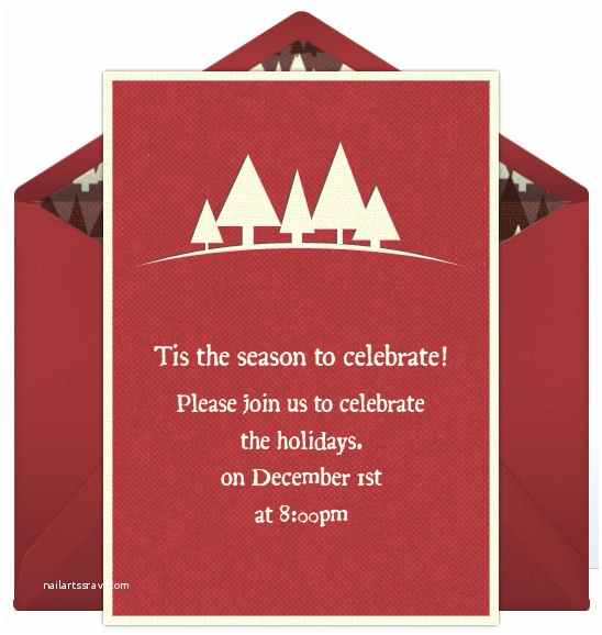 Winter Party Invitations Winter Party Invitations