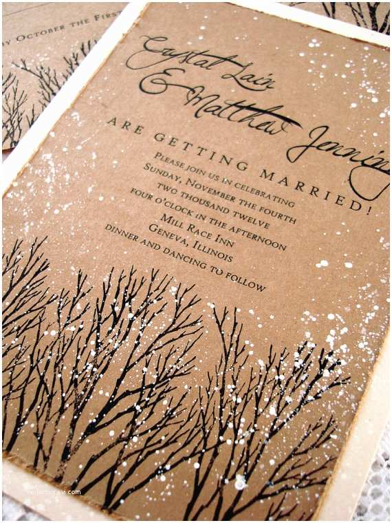 Winter themed Wedding Invitations Winter Wedding Ideas From Your Dress to the Cake 21