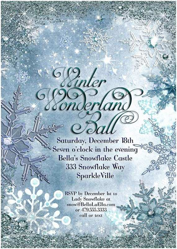 Winter Wonderland Wedding Invitations 31 Best Winter Wonderland Invitations Images On Pinterest