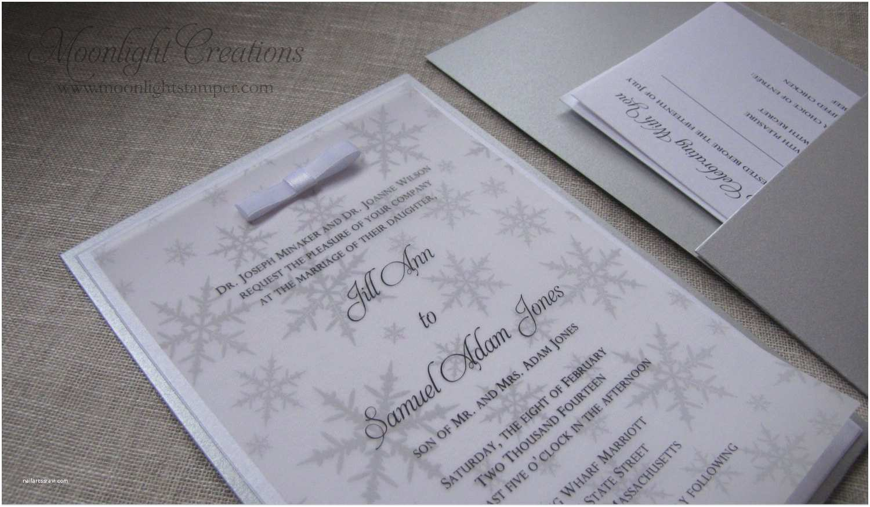 Winter Wonderland Wedding Invitations Silver Winter Wonderland Wedding Invitations