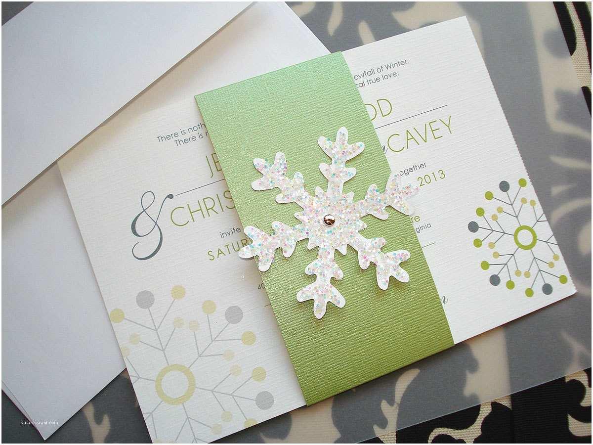 Winter Wonderland Wedding Invitations Winter Wonderland too Snowflake Wedding Invitation
