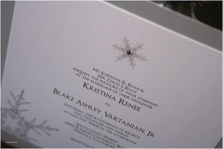 Winter Wonderland Wedding Invitations Winter Wonderland Wedding Invitations –