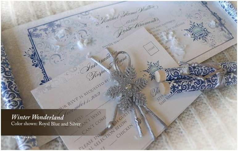 Winter Wonderland Wedding Invitations Winter Wonderland Wedding Invitations Template