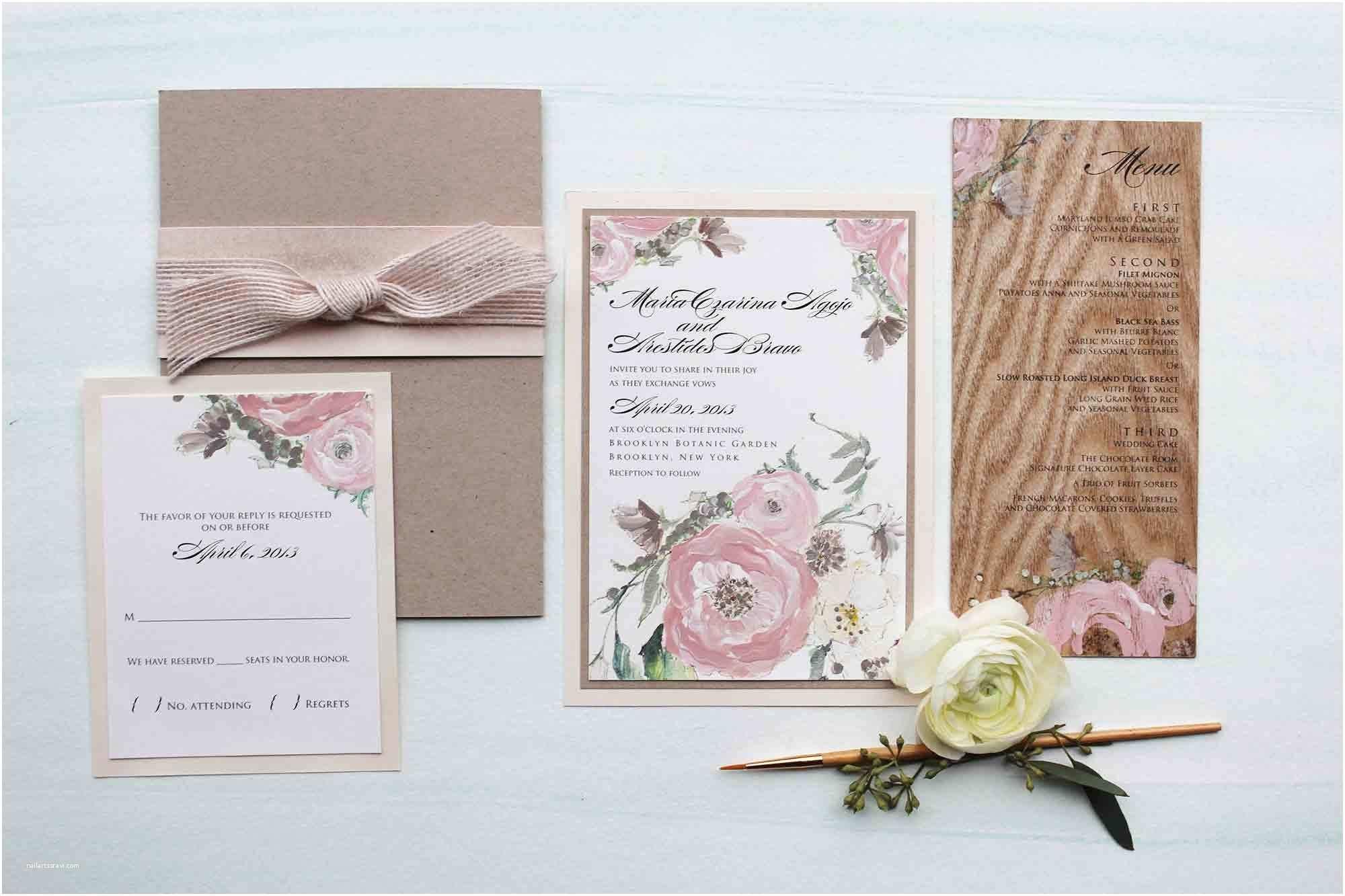 Wooden Wedding Invitations Wood Wedding Invitations – Gangcraft