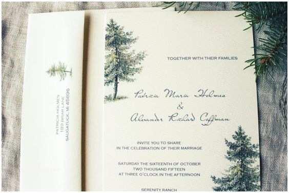 Woodland Wedding Invitations Woodland Wedding Invitations Wedding and Pine On Pinterest