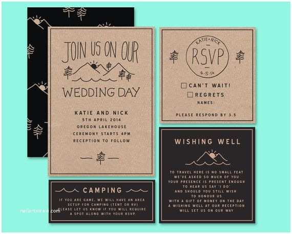 Woodsy Wedding Invitations 568 Best Woodland theme Images On Pinterest