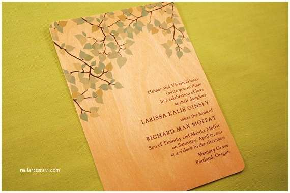 Woodsy Wedding Invitations An Inspired Life Woodsy Wedding