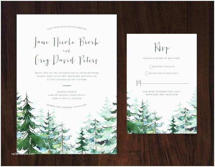 Woodsy Wedding Invitations Best 25 Tree Wedding Invitations Ideas On Pinterest