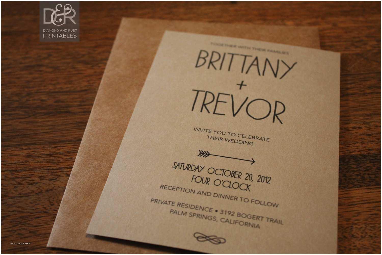 Woodsy Wedding Invitations Rustic Woodsy Printable Wedding Invitation Suite