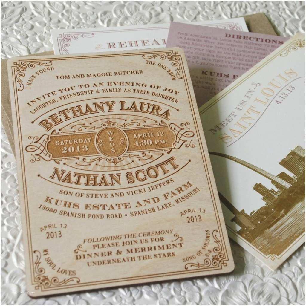 Woodsy Wedding Invitations Wonderful Wood Wedding Invitations