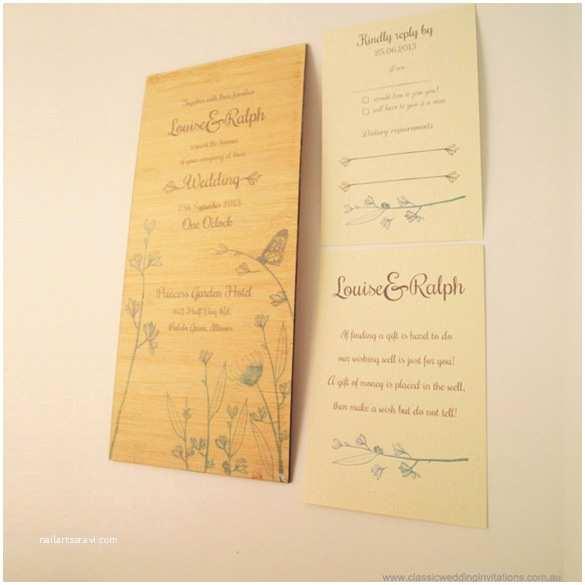 Woodsy Wedding Invitations Wood Wedding Invitations Images