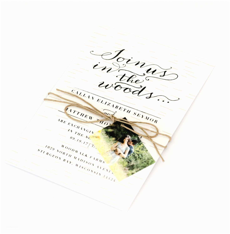 Woodsy Wedding Invitations Woodsy Wedding Invitations Rustic Intimate Outdoorsy Wedding
