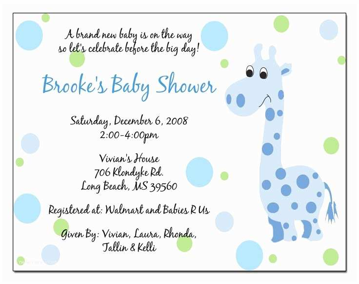Wording for Baby Shower Invitation 10 Best Images About Simple Design Baby Shower Invitations