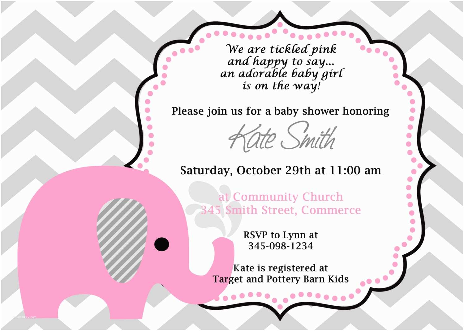 Wording for Baby Shower Invitation Template Baby Shower Invitation Wording