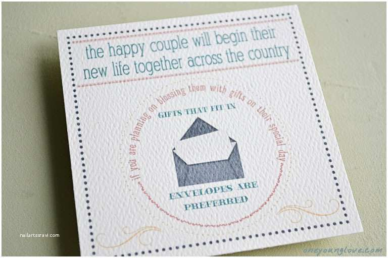 Wording for Cash Gifts On Wedding Invite Wedding Invitations