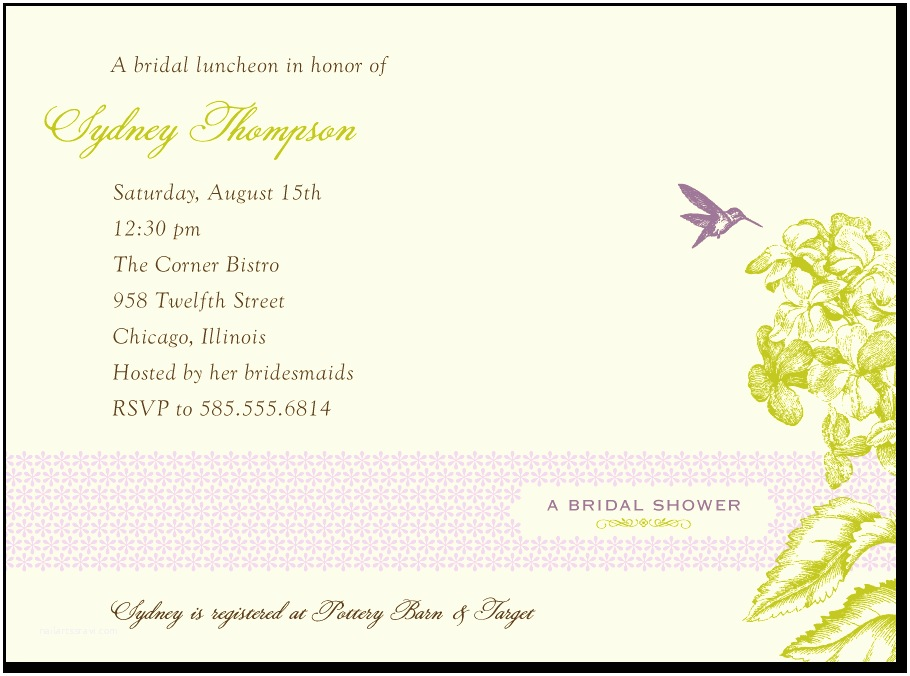 Wording for Cash Gifts On Wedding Invite Wording for Bridal Shower Invitations No Registry – Mini