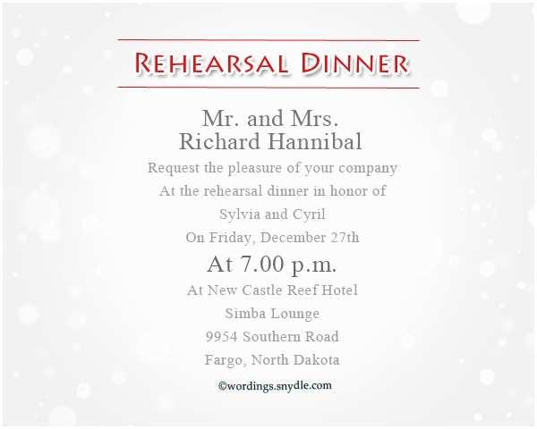 Wording for Rehearsal Dinner Invitations Wedding Rehearsal Dinner Invitation Wording – Gangcraft