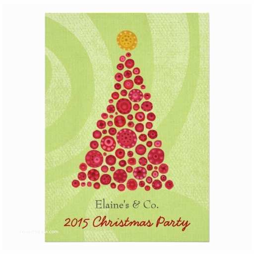 Work Christmas Party Invitation Christmas Party Corporate Work Business Function 5x7 Paper