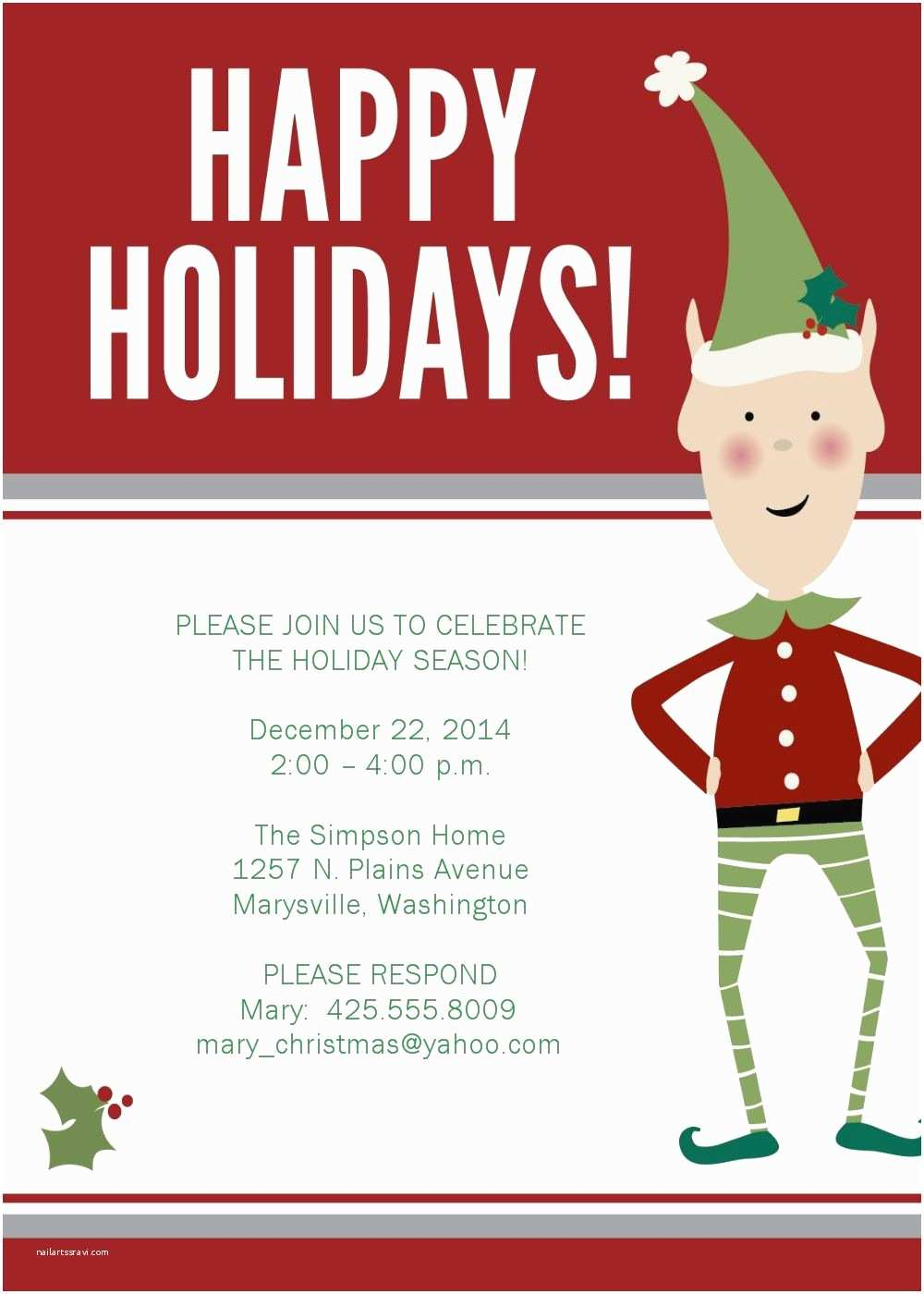 Work Christmas Party Invitation Christmas Party Invitations Google Search