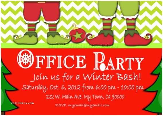 Work Christmas Party Invitation Fice Christmas Party Invitations