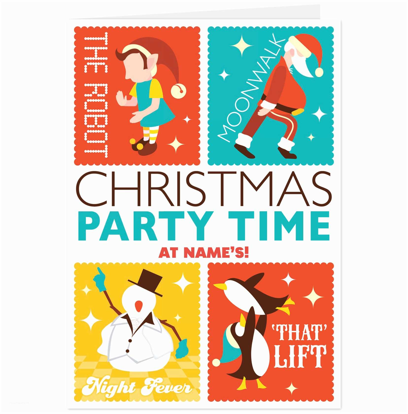 Work Christmas Party Invitation Funny Christmas Party