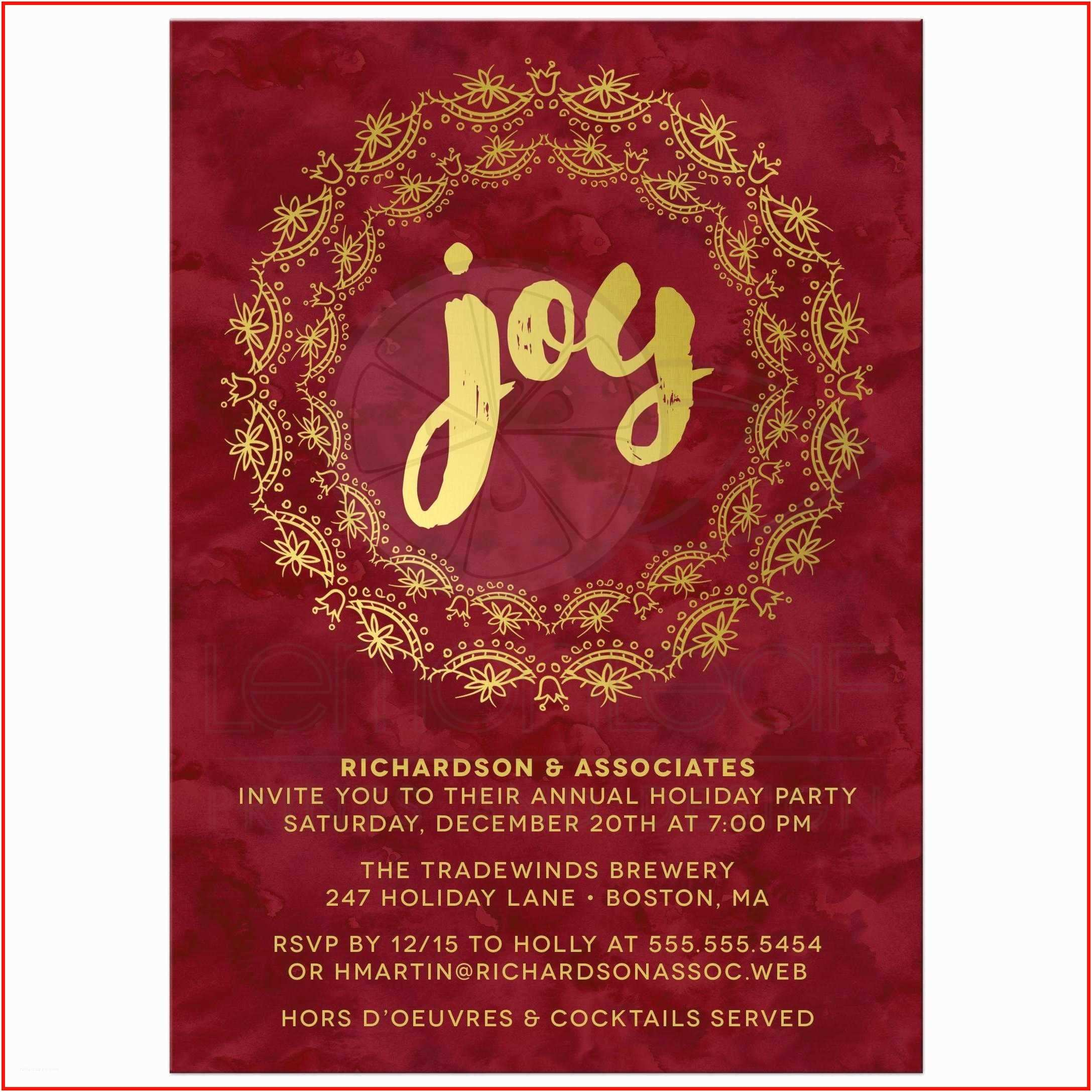 Work Christmas Party Invitation Work  Party Invitations Corporate