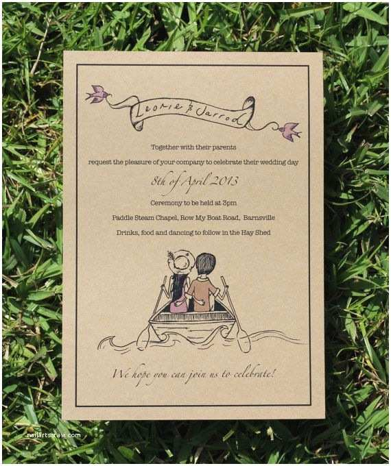 Yacht Wedding Invitation Wording Love Boat Wedding Package by Deerdaisy On Etsy Engagement