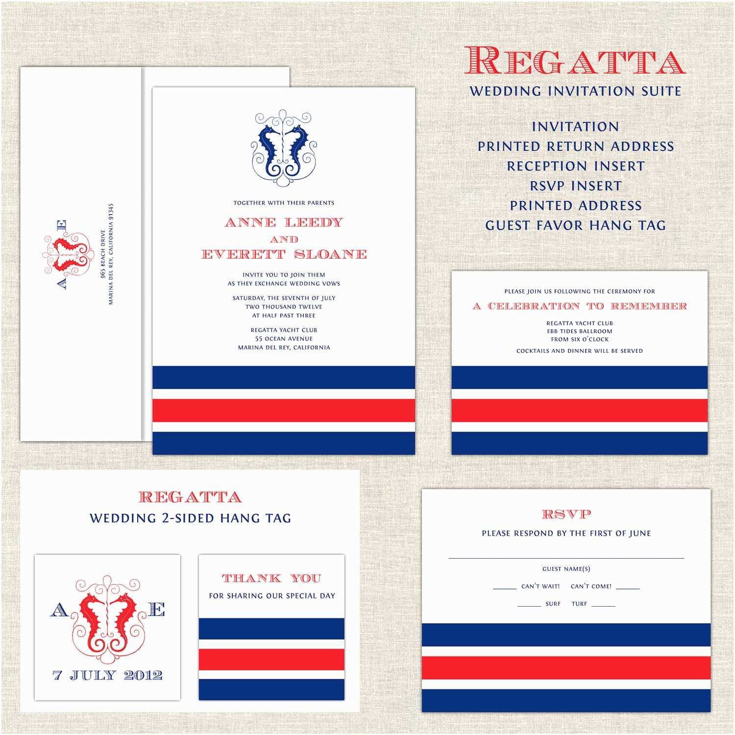 Yacht Wedding Invitation Wording Nautical Wedding Invitations Yacht Club Wedding Invitation