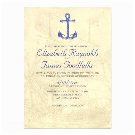 Yacht Wedding Invitation Wording Vintage Boat Wedding Invitations Invite