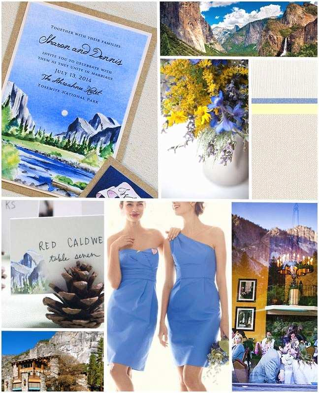 Yosemite Wedding Invitations Inspirations Yosemite Wedding Invitations Momental