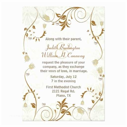 Zazzle Com Wedding Invitations Elegant Fall Wedding Invitation