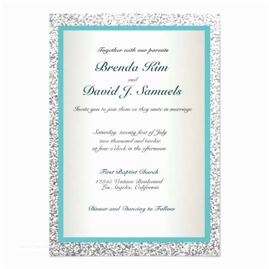 Zazzle Com Wedding Invitations Elegant Glitter Wedding Invitation