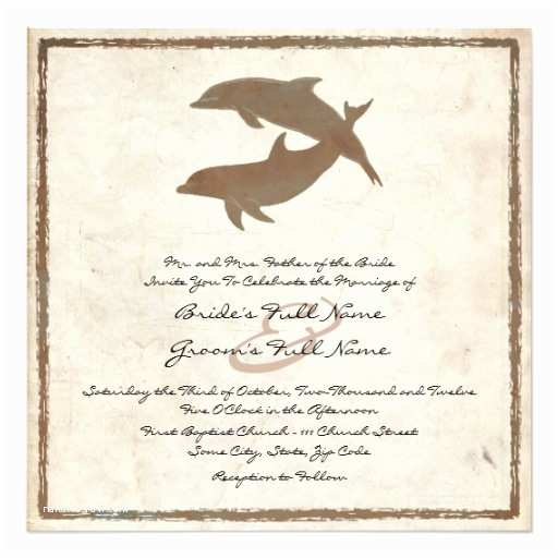 Zazzle Com Wedding Invitations Rustic Dolphins Beach Wedding Invitation