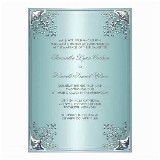 Zazzle Com Wedding Invitations Teal Blue White Wedding Invitations