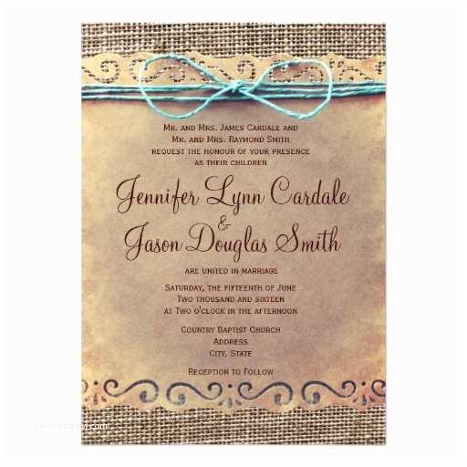 Zazzle Rustic Wedding Invitations Rustic Country Vintage Burlap Wedding Invitations
