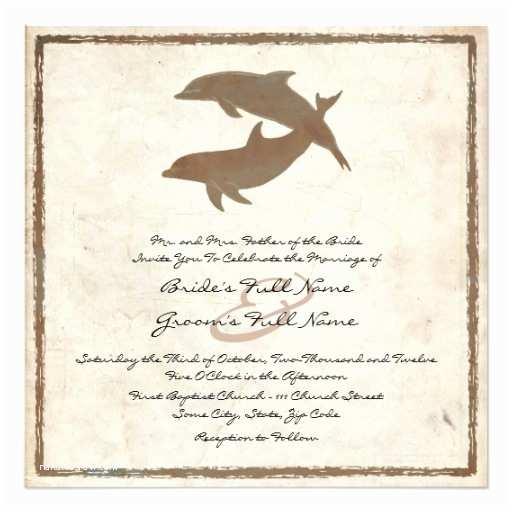 Zazzle Rustic Wedding Invitations Rustic Dolphins Beach Wedding Invitation
