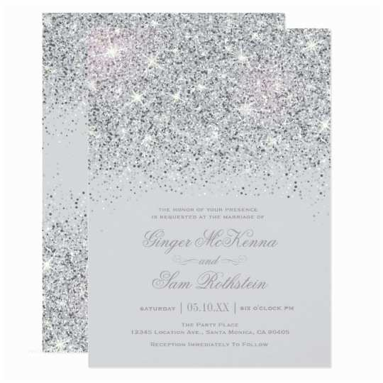 Zazzle Wedding Invitations Elegant Silver Teal Blue Wedding Invitations