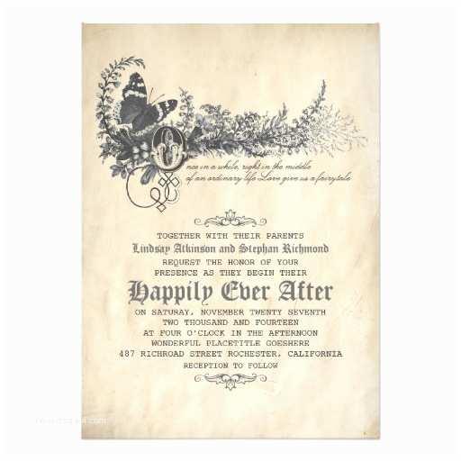 Zazzle Wedding Invitations Fairytale Wedding Invitation