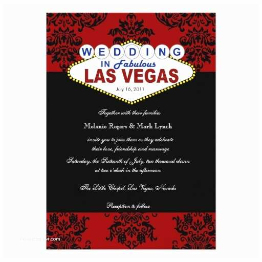 Zazzle Wedding Invitations Viva Las Vegas Damask Wedding Invitation